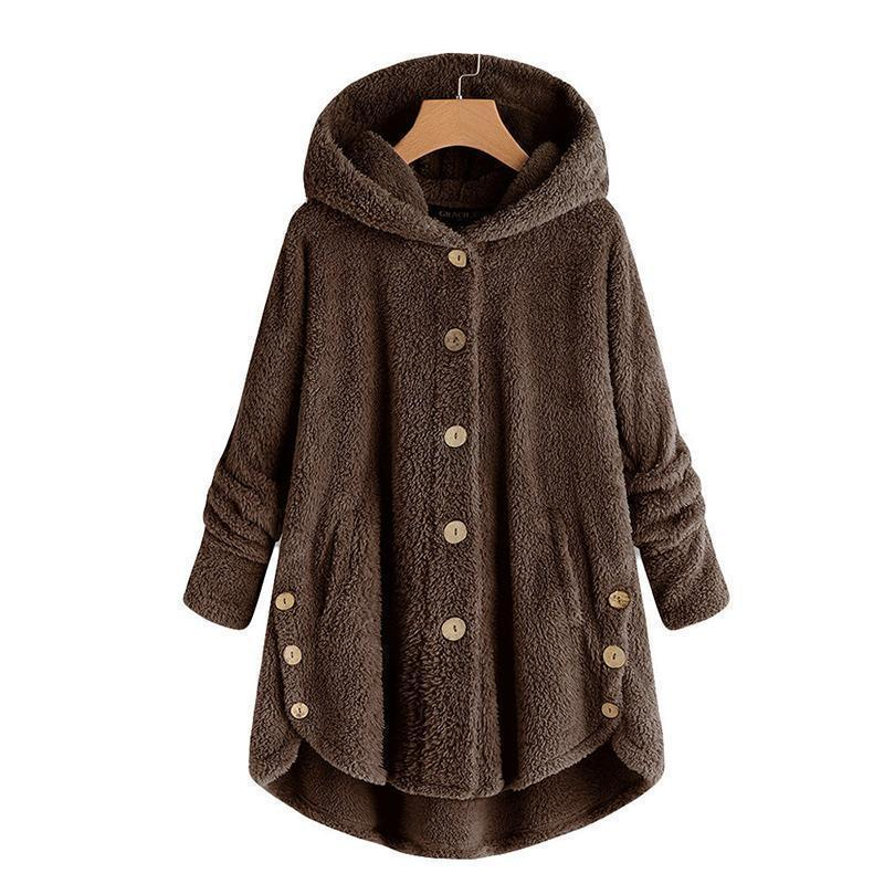 Plus Size Women Loose Warm Outwear Coat