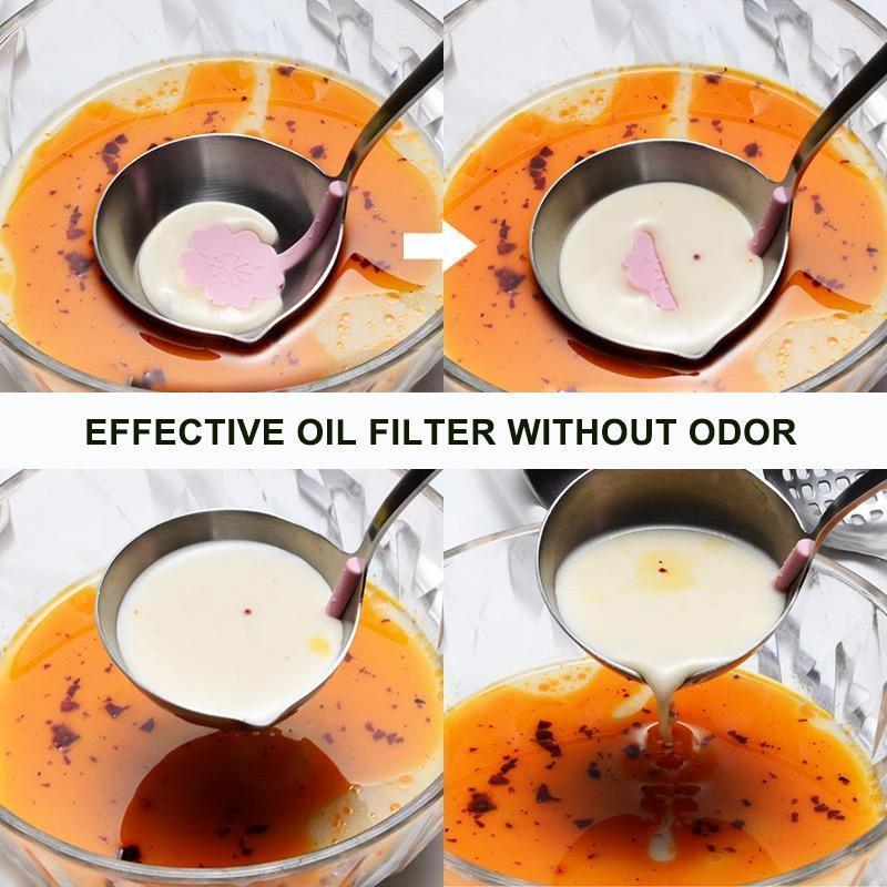 Creative Oil Filter Spoon