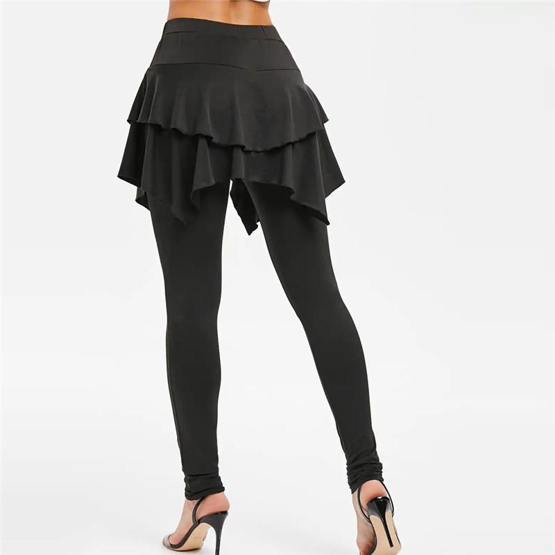 (Pre-sale) Tiered Ruffle Skirted Legging