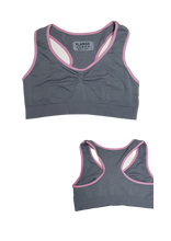 Load image into Gallery viewer, Double Layered Racerback Sports Bra