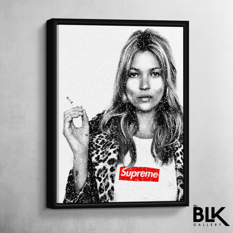 Kate Moss 4 Supreme - The BLK Gallery
