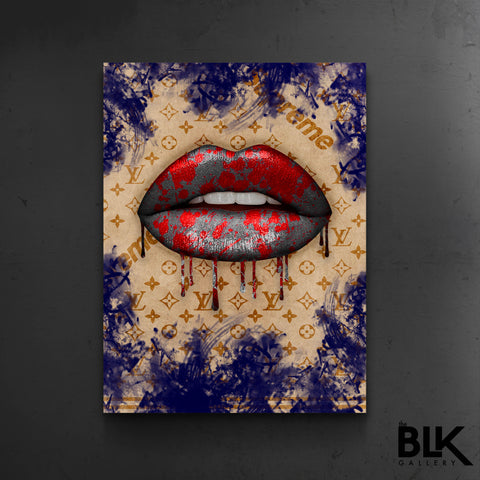 Supreme x LV Lips - The BLK Gallery