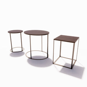 Maxalto Elios Side Tables