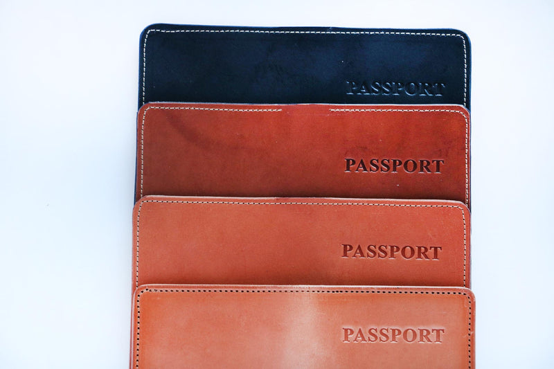 Passport Wallet - Moody's Leather Co.