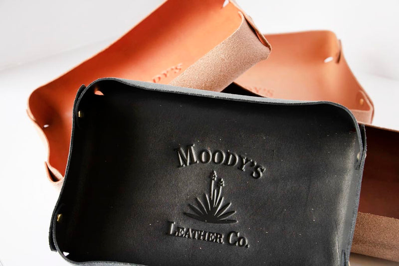 Knife and coin tray - Moody's Leather Co.