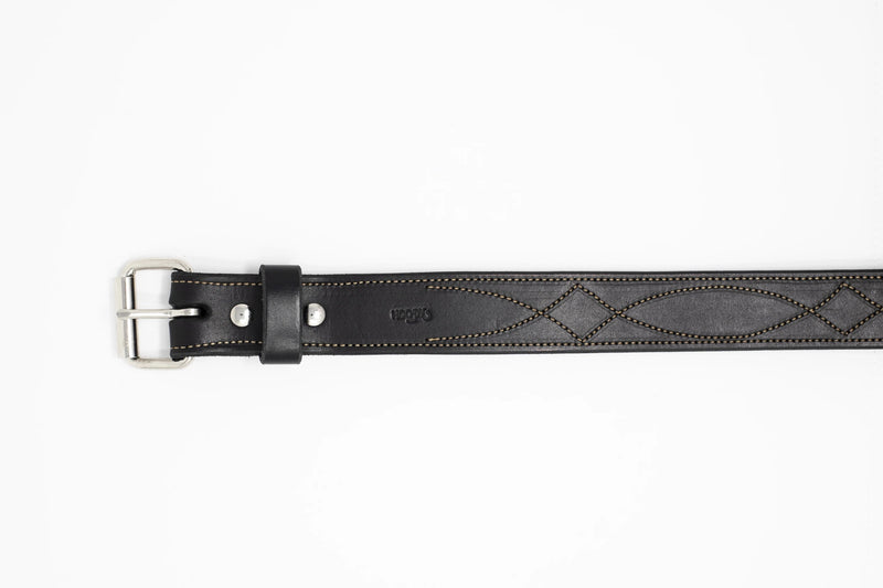 Texas Stitch Belt - Moody's Leather Co.