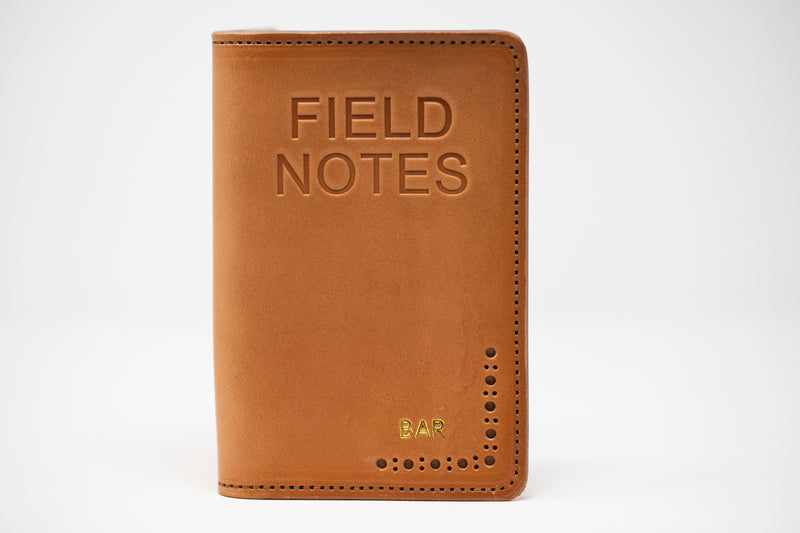 Field Notebook Wallet - Moody's Leather Co.
