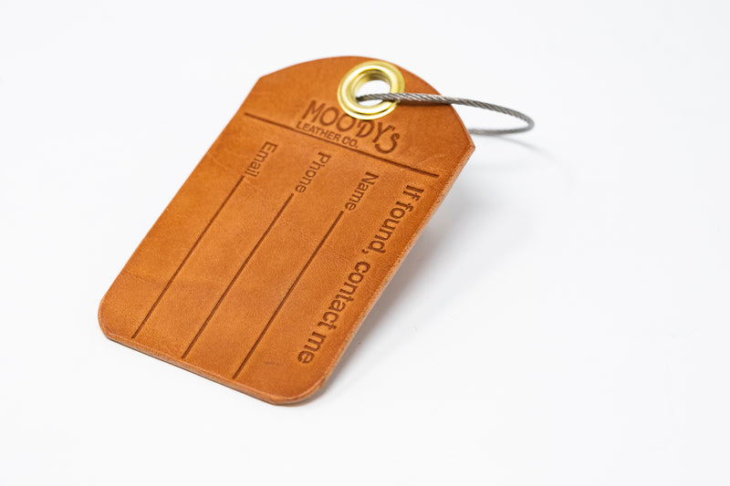Luggage Tag (Pack of 3) - Moody's Leather Co.