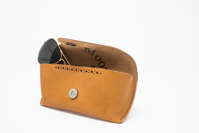 Leather Glasses Case - Moody's Leather Co.