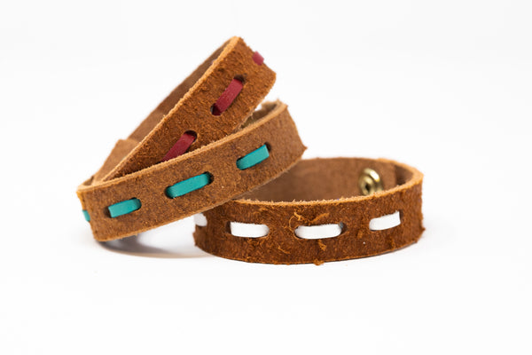 Buck Stitched Cuff - Moody's Leather Co.