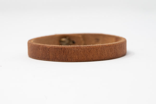 Rawhide Stitched Cuff - Moody's Leather Co.