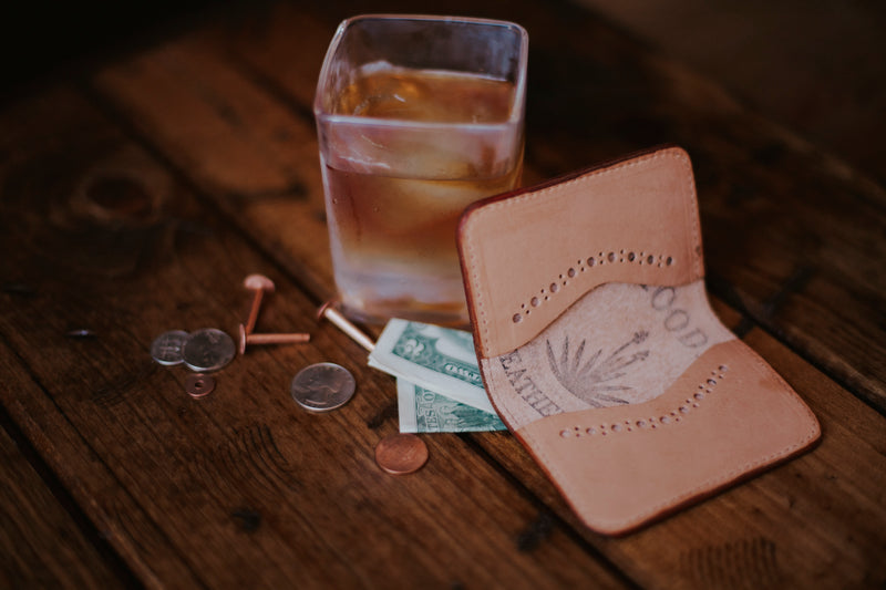 Wood Wallet - Moody's Leather Co.