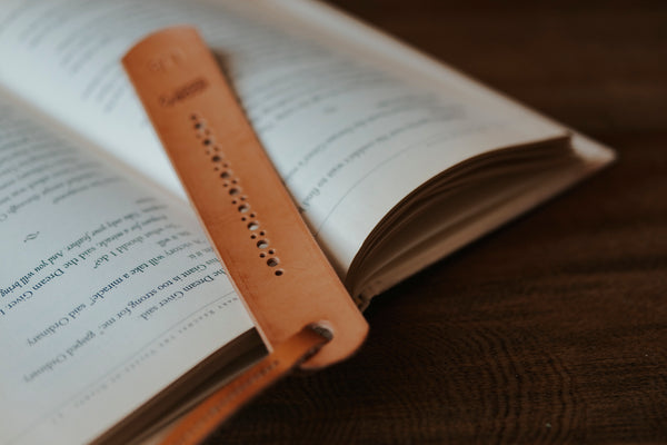 Leather Bookmark - Moody's Leather Co.