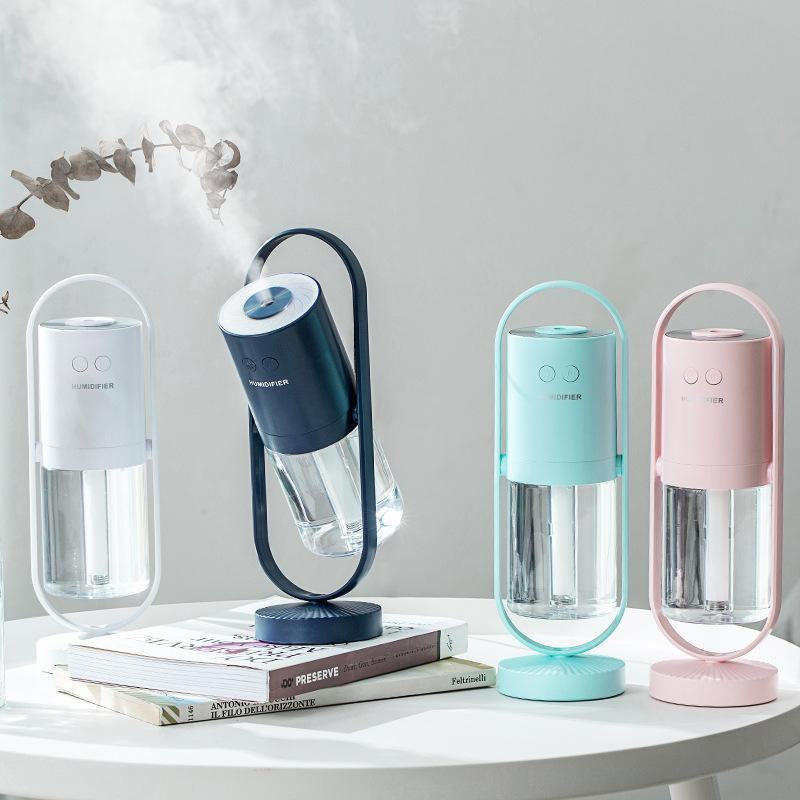 2019 creative desktop mini mute night light atomization aromatherapy portable home humidifier
