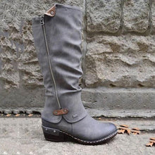 Load image into Gallery viewer, 【Last Day Promotion, 69% OFF】Women's Cowboy Knee Boots Punk Boots - lucytreemart