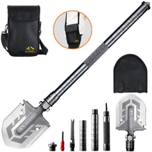 Load image into Gallery viewer, The Ultimate Survival Tool 23-in-1 Multi-Purpose Folding Shovel