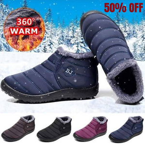 Unisex Waterproof Ankle Snow Boots