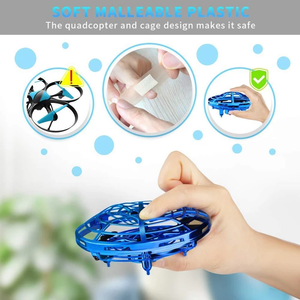 Christmas present-2019 New Mini Drone Quad Induction Levitation UFO