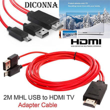 Load image into Gallery viewer, HDMI to TV Cable Adapter, Plug & Play