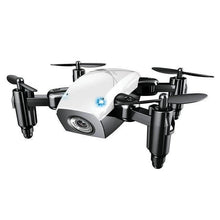 Load image into Gallery viewer, Foldable Mini RC Drone Test Warehouse Geek white with camera