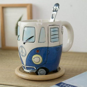 Inspire Uplift Coffee Mug Blue Road Trip Coffee Mug