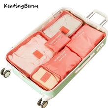 Load image into Gallery viewer, Luggage Packing Organizer Set (6pc)