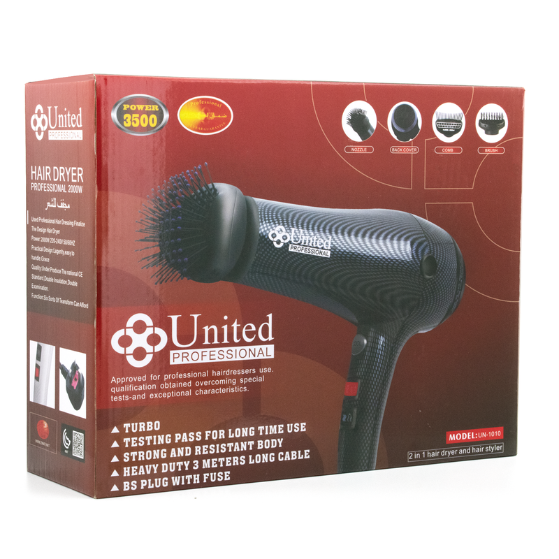 UN-1010 Hair Dryer
