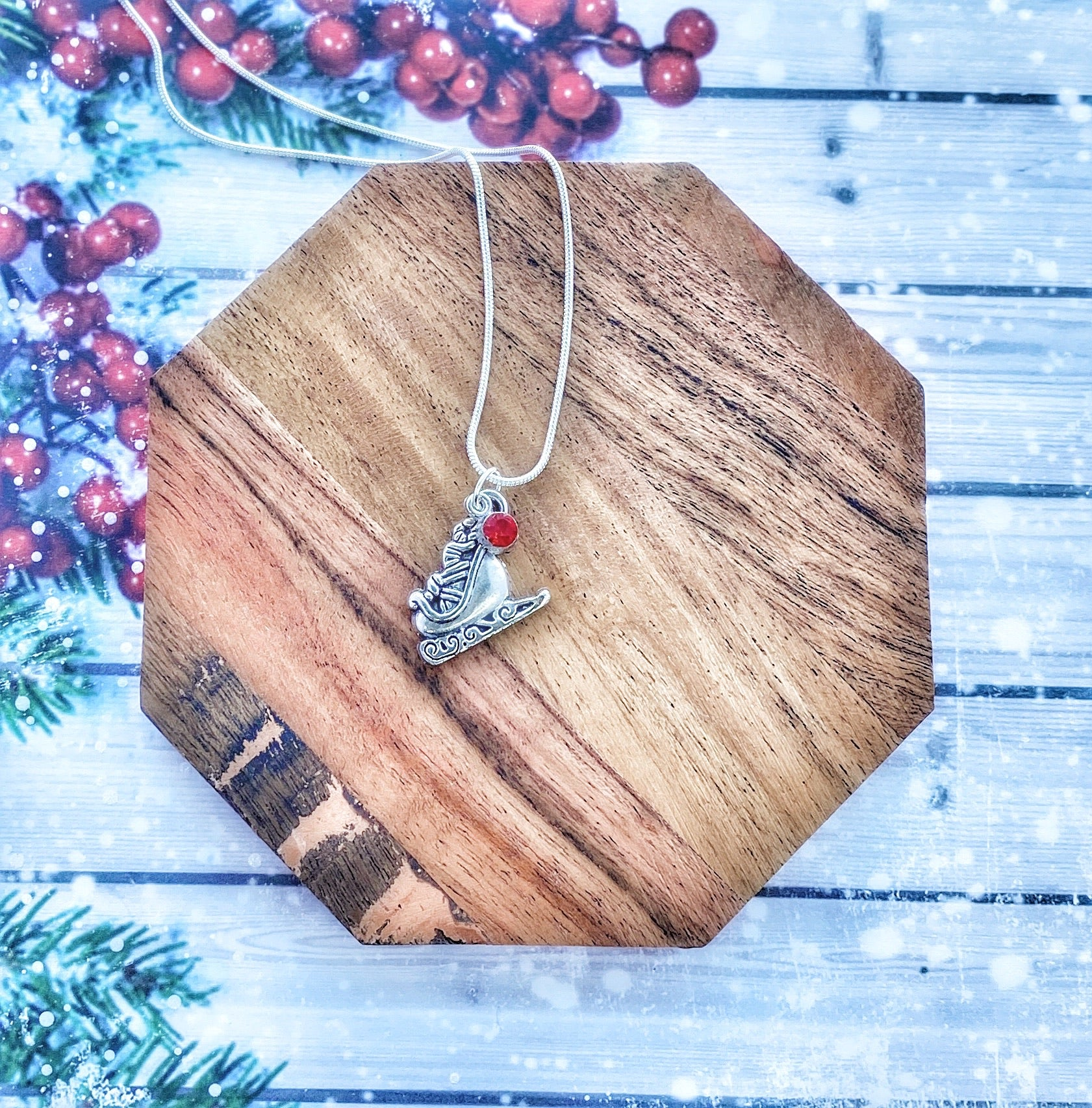 Holiday Charmed Necklace