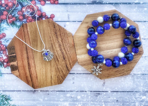 Blue Tiger eye Holiday Set