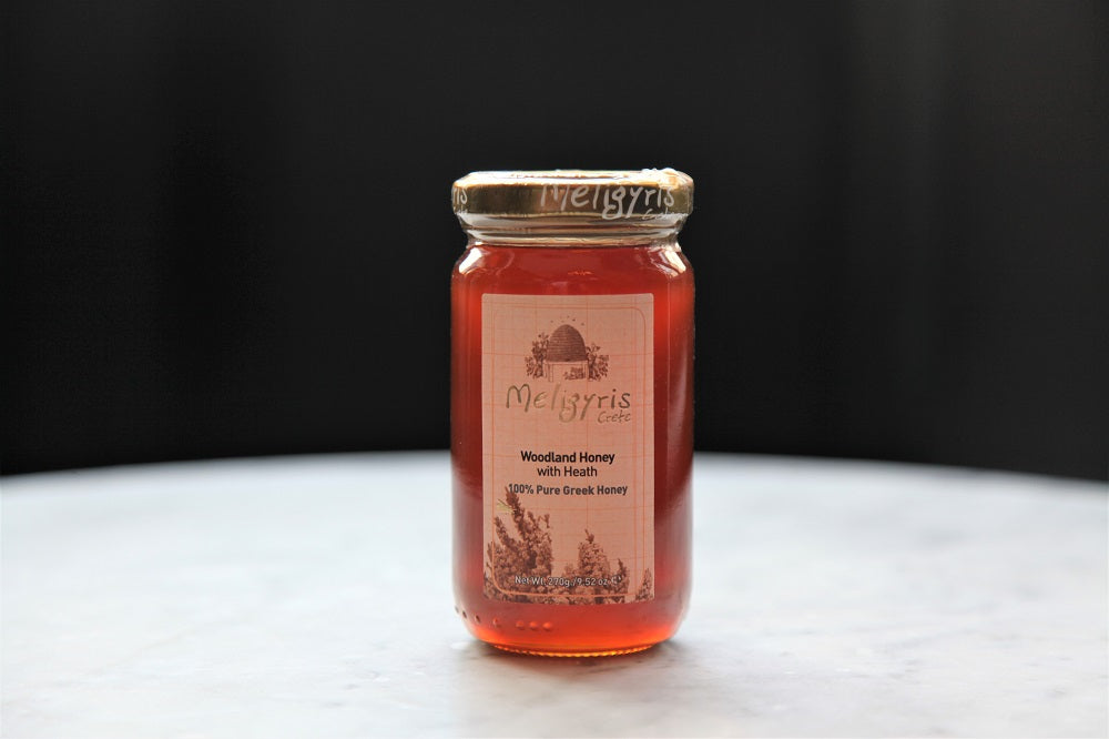 Meligyris Cretan Woodland Honey with Heather 270g