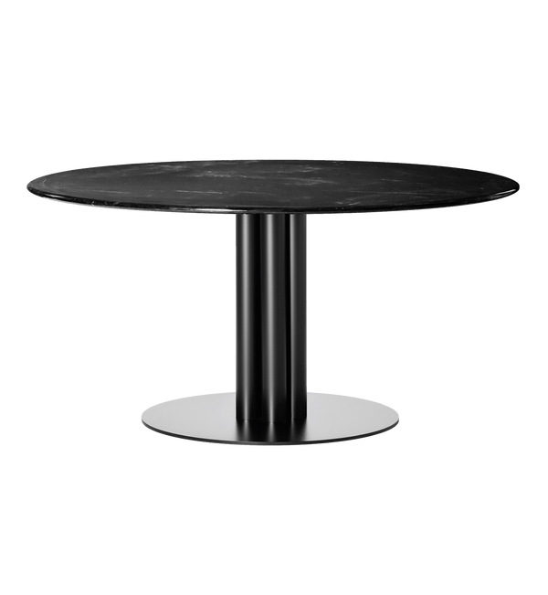 Louise Roe Bord, Round About Table, Sort Marmor - Ø140 H74