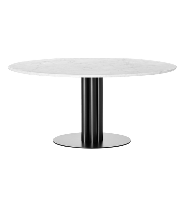 Louise Roe Bord, Round About Table, Hvid Marmor - Ø160 H74