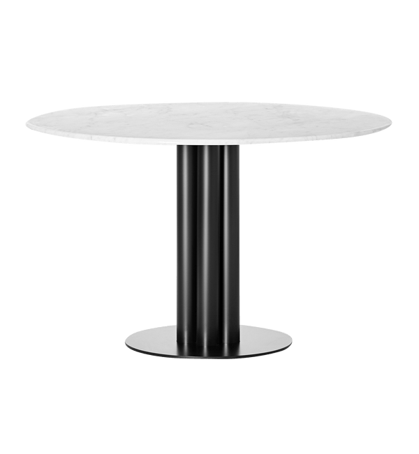 Louise Roe Bord, Round About Table, Hvid Marmor - Ø120 H74