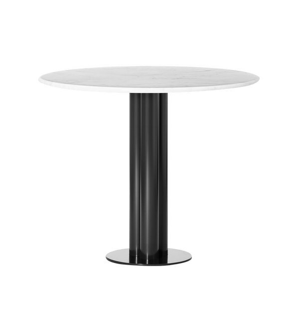 Louise Roe Bord, Round About Table, Hvid Marmor - Ø90 H74