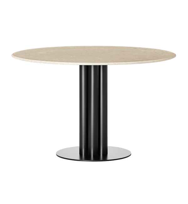 Louise Roe Bord, Round About Table, Sunny Beige Marmor - Ø120 H74