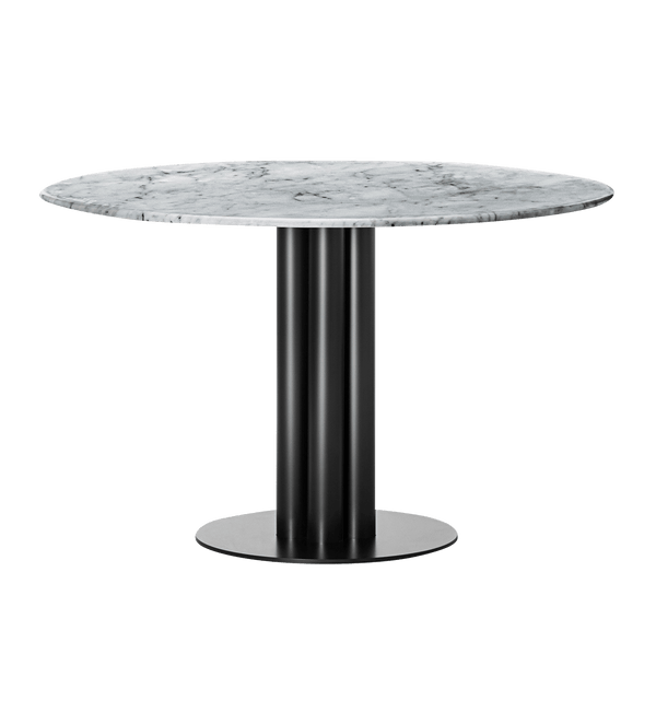 Louise Roe Bord, Round About Table, Grå Marmor - Ø120 H74