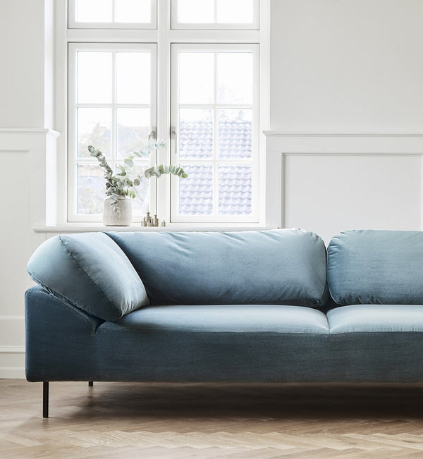 WOUD Sofa, Open End Collar 2-seater, Højre - 177x110xH74