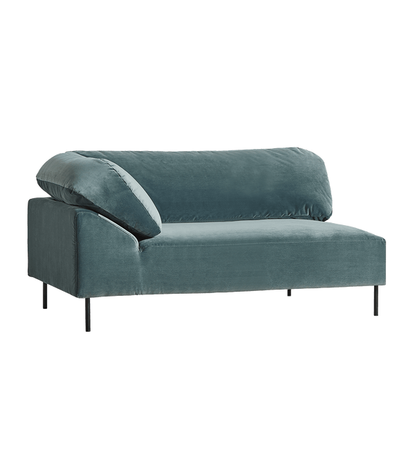 WOUD Sofa, Open End Collar 2-seater, Venstre - 177x110xH74