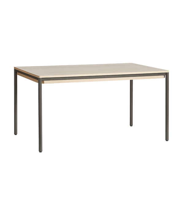 WOUD Spisebord, Piezas Dining Table, Eg & Metal - 140x85xH74