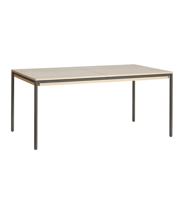 WOUD Spisebord, Piezas Dining Table, Eg & Metal - 160/205x95xH74