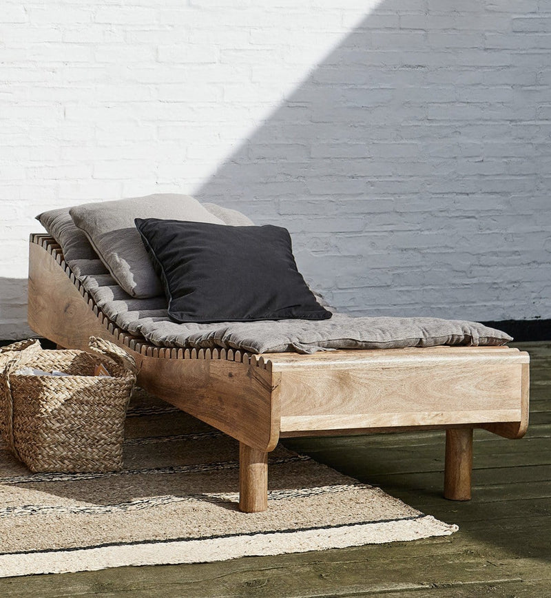 House Doctor Daybed, Basti, Natur - 193x70xH49,5