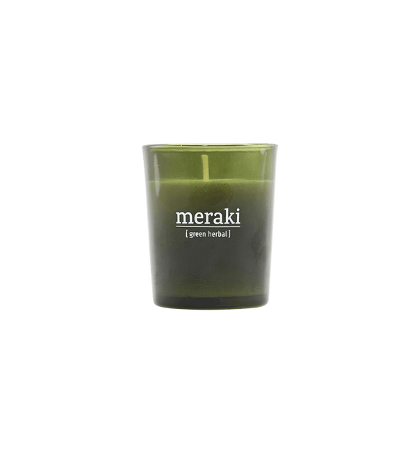 Meraki Duftlys, Green Herbal, Lille