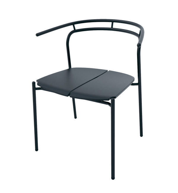 AYTM Stol, Novo Dining Chair, Sort