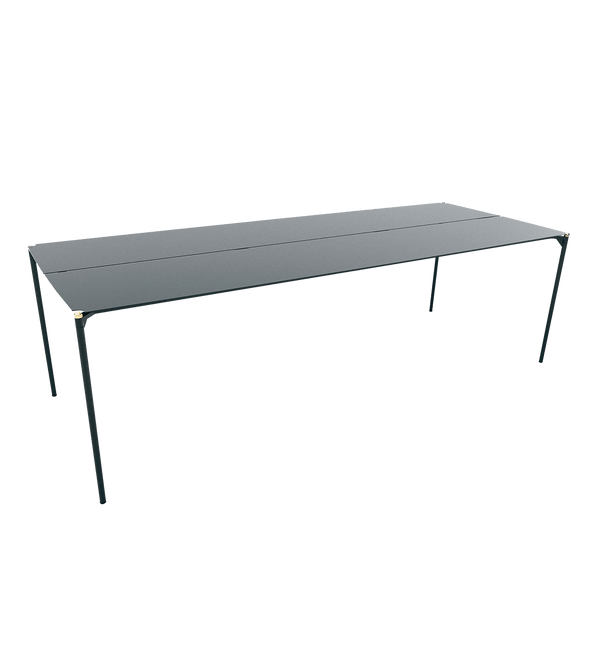 AYTM Bord, Novo Table, Sort & Guld - 240x90xH72
