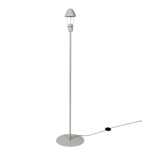 Broste Copenhagen Gulvlampe, Gine, Metal, Light Grey