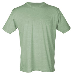 Tultex 241 Adult Poly Rich Crew-Heather Green