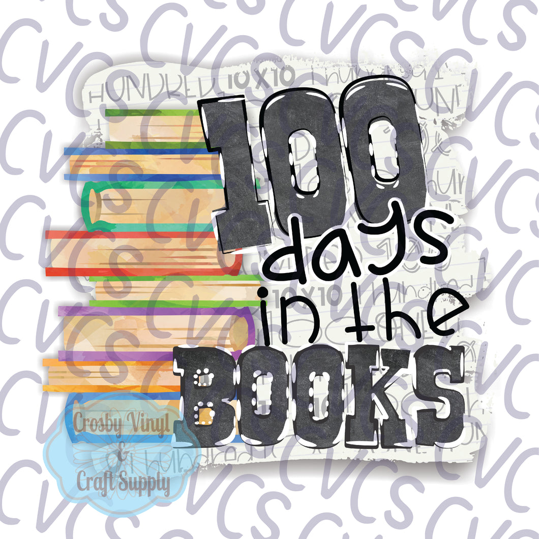 100 Days in the Books