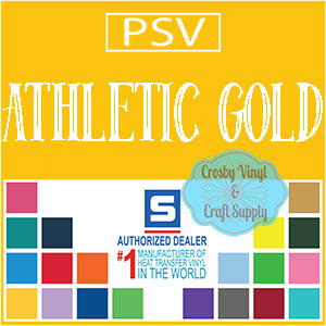 Permanent PS Sign Vinyl-Athletic Gold