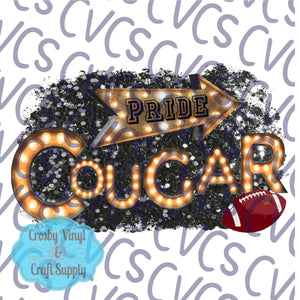 Cougar Pride Marquee Football