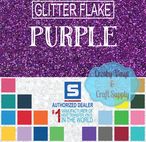 Glitter Flake-Purple
